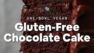1-Bowl Vegan Gluten-Free Chocolate Cake | Minimalist Baker Recipes