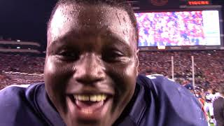 Auburn Celebrates Iron Bowl Victory