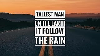 Tallest Man On The Earth - It Will Follow The Rain - 2019 Infiniti Qx50 Commercial Song