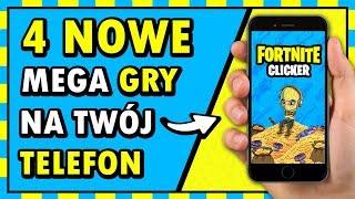 Nowy FORTNITE CLICKER na TELEFON! ◉_◉ (4 NOWE, SUPER GRY)