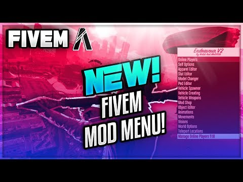 Best FiveM Mod Menu w/Money July 2018 - смотреть онлайн на Hah Life