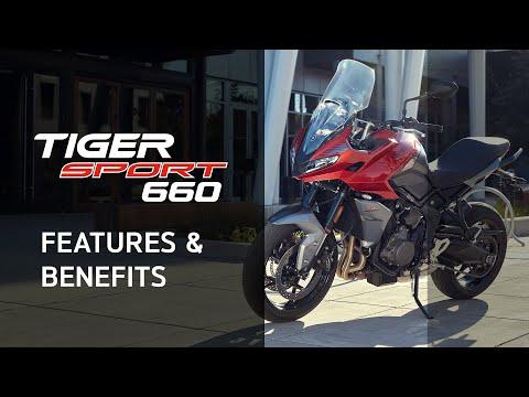 2022 Triumph Tiger Sport 660 in Bakersfield, California - Video 4
