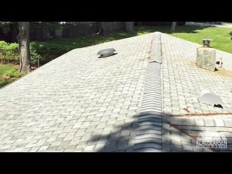 Klaus Larsen Roofing - Installing a Vented...