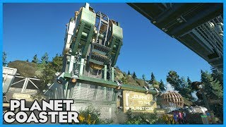 JOURNEY TO THE PLANET CORE! Coaster Spotlight 299 #PlanetCoaster