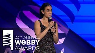 Jenny Slate Kicks Off the 23rd Annual Webby Awards