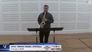 Rafael FERREIRA PEREIRA plays Sonata by J. Rueff #adolphesax