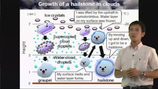雹の仕組み(雲の中では何が起こっているのか)