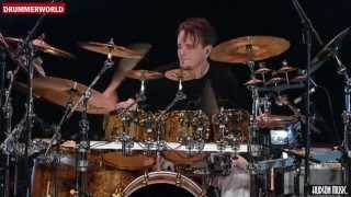 Drummer Gavin Harrison playing Futile