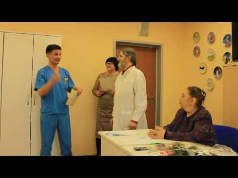 Защита диплома. Обучение в Академии гирудотерапии в Санкт-Петербурге.