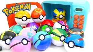 Download Youtube: Learn Colors with POKEMON GO Play-Doh and MAGIC MICROWAVE Surprise Cooking Playset | Compilation