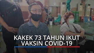 Kakek 73 Tahun di Padang Ceritakan Pengalaman Disuntik Vaksin Covid-19 Seperti Digigit Semut