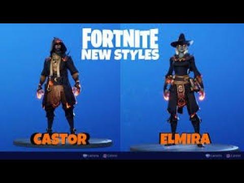 *NEW* Secret Edit Style for Castor & Elmira Wizard Skins! *LIVE* - Use Code: DREWQUA_