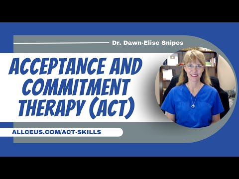 Acceptance and Commitment Therapy Skills   Counselor Toolbox ...