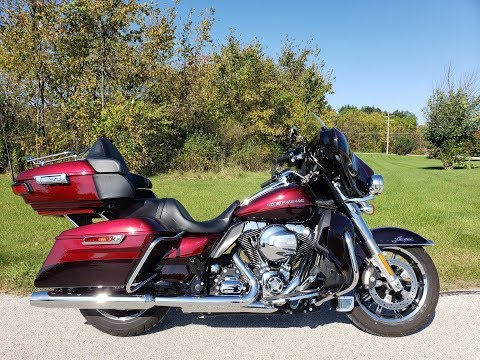 2015 Harley-Davidson Ultra Limited Low in Big Bend, Wisconsin - Video 1