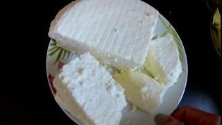 ДОМАШНИЙ СЫР из кефира и молока