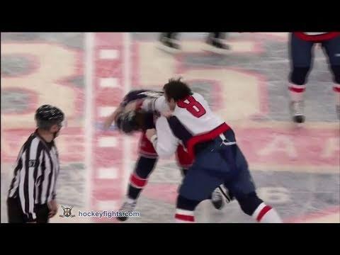 Brandon Dubinsky vs. Alex Ovechkin