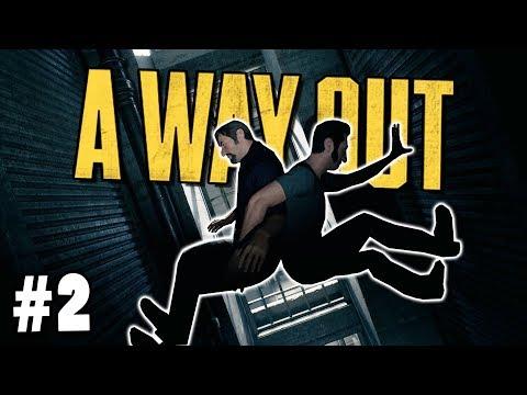 UŽ JSME SKORO VENKU - #2│A Way Out (CZ)
