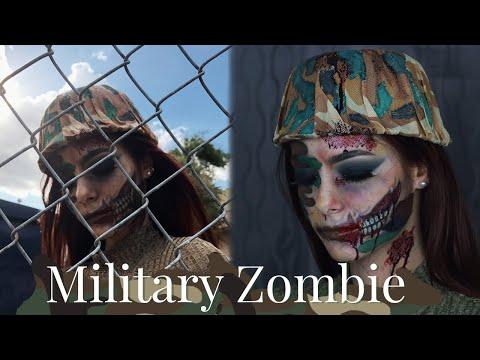 Maquillaje para Halloween: Zombie Militar | Celhelíz