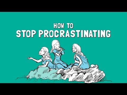 Don't procrastinate!