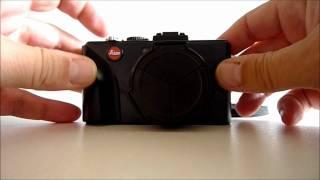 Auto lens cap for Leica D-Lux 4/5