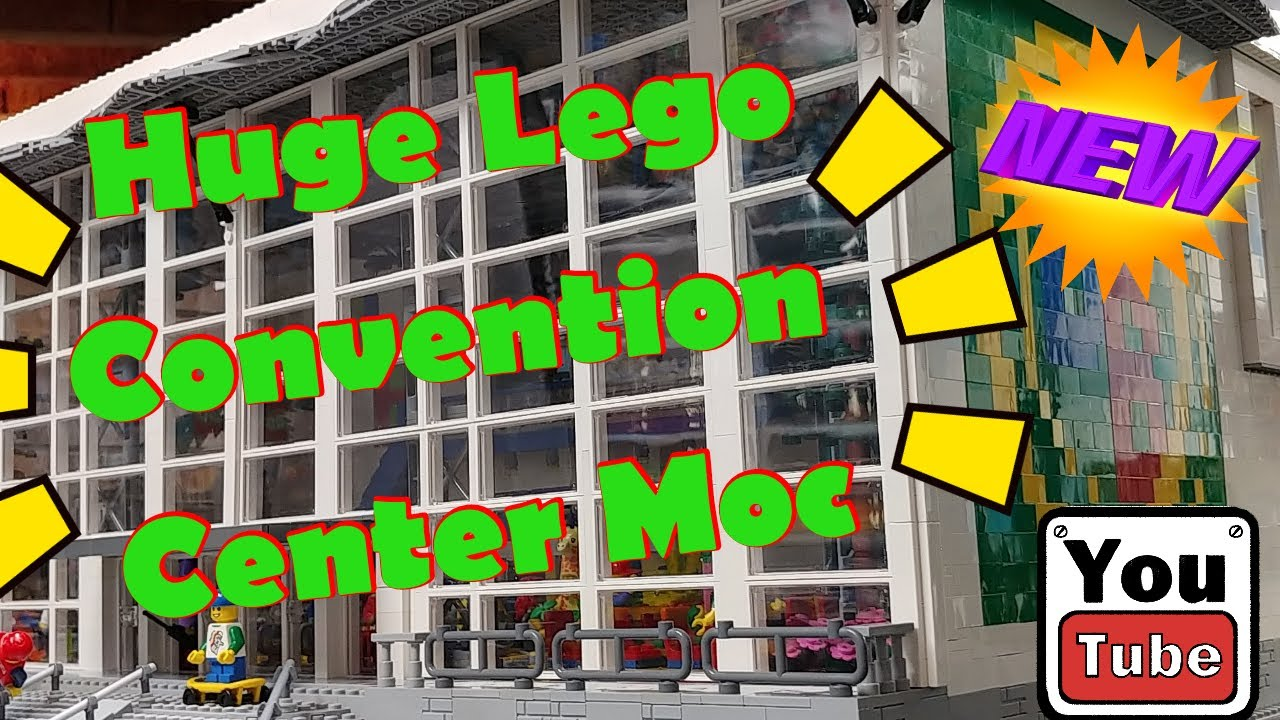My Huge Lego Convention Center Moc Finale