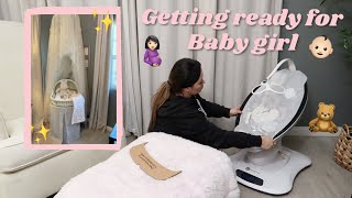 NEST WITH ME | ROOM SHARING WITH A NEWBORN | GETTING READY FOR BABY GIRL | JESSICA CANON