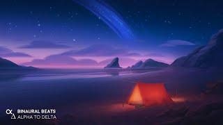 8 Hours DEEP SLEEP Music [Full Sleep Cycle] Calming Ocean Sounds - Binaural Beats