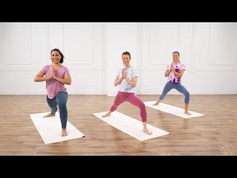 35-MinutePureJoyYoga, Cardio, &Meditation Session