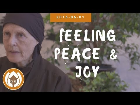 Feeling Peace & Joy | Dharma Talk by Sister Annabel Laity, 2016.06.01