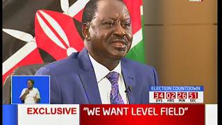 Raila Odinga down plays rumors of NASA boycotting the October 17th fresh polls
