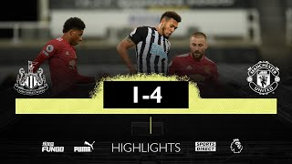 Newcastle United 1-4 Manchester United Pekan 5