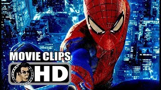 THE AMAZING SPIDER MAN Clips + Trailer (2012)