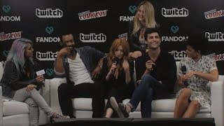 Shadowhunters Cast Interview at NYCC Live Stage