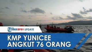 KMP Yunicee Ternyata Angkut 76 Orang, Petugas Masih Cari 18 Korban yang Dinyatakan Hilang