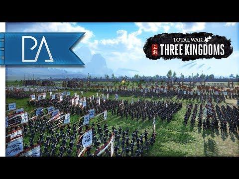 MASSIVE MULTIPLAYER SIEGE BATTLE - 4v4 - Total War: Three Kingdoms