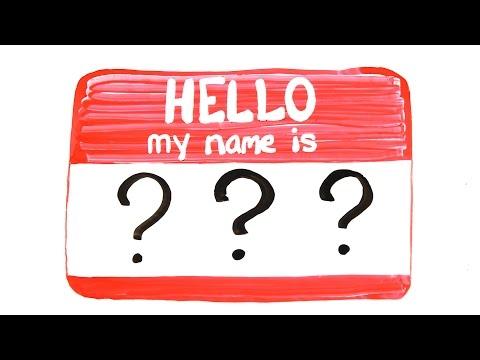 Proč zapomínáme jména?