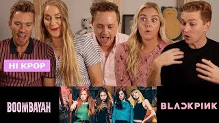 """BLACKPINK """"BOOMBAYAH"""" M/V Reaction! Will our friends become BLINKS??"""