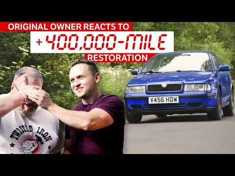 Previous Owner Reacts To The Restoration Of His Old Car