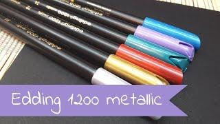 Pisaki metaliczne Edding 1200 HD