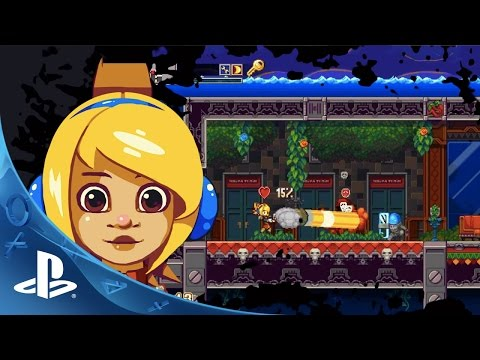 Iconoclasts -- Reveal Trailer | PS4, PS Vita thumbnail