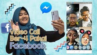 Video Call Pakai Facebook Dijamin Nggak Akan Boring karena Fitur Stikernya Super Beragam dan Lucu