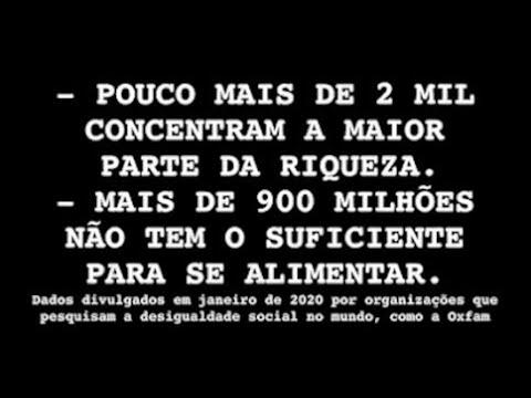 A INTERSINDICAL ESTÁ NA CAMPANHA EXIGINDO A TAXAÇÃO DAS GRANDES FORTUNAS