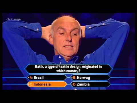 Who Wants to be a Millionaire September 2001 Parent and Child Special 2