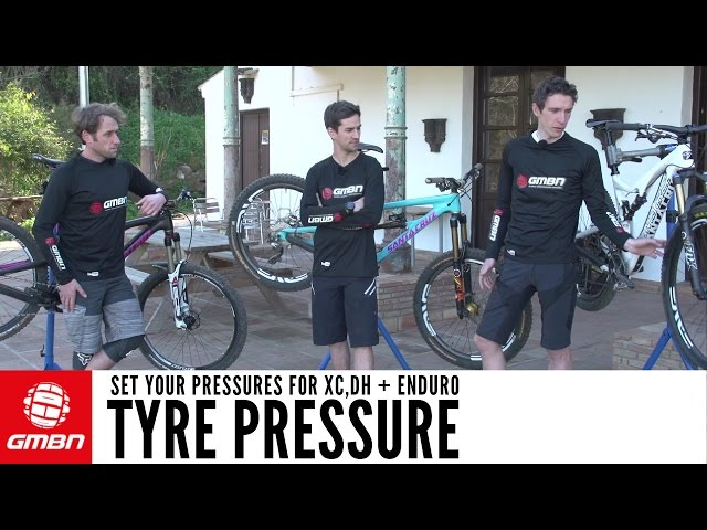 Tyre Pressure For Mountain Biking - How To Set Your Pressures For ...