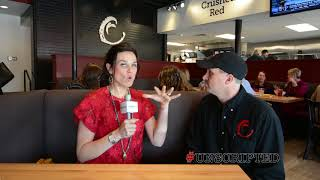 #Unscripted Eats @ Crushed Red - the new hot spot on Cherry Street! Check out this interview and see