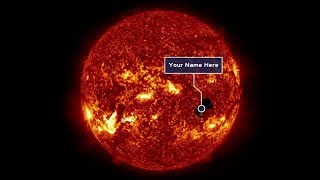 Send Your Name to the Sun