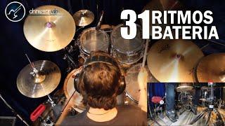 31 Ritmos Bateria | Aprender a tocar Distintos Géneros