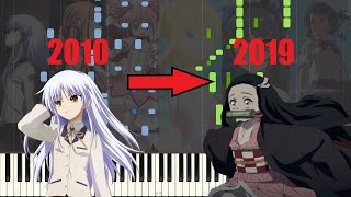 The Decade in Anime Songs [Piano Medley] - How many can you still remember?