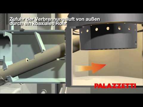 Die neuen wasserführenden raumluftunabhängigen Pelletsöfen Palazzetti: Heißes Wasser im ganzen Haus