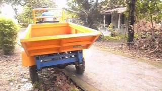 Traktor Kelapa Sawit- Instiper & Bio-Technik Indonesia